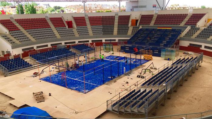 Pista central del Estrella Damm Las Rozas Open