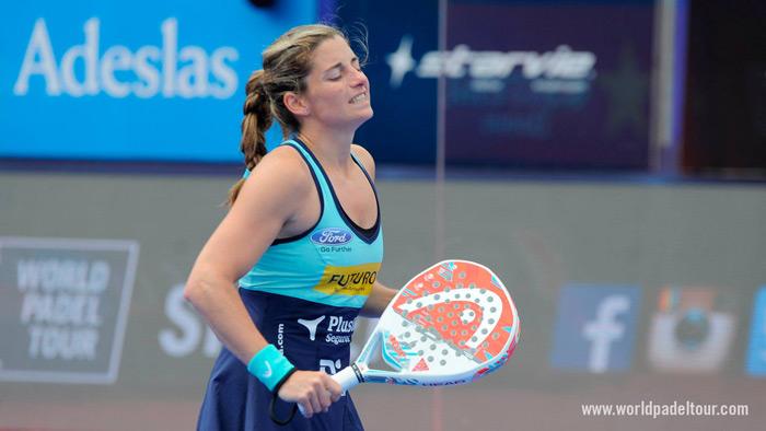 Alejandra Salazar se ha recuperado para el Estrella Damm Las Rozas Open