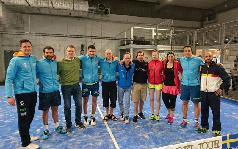 Bullpadel, presentes en el Swedish Padel Tour