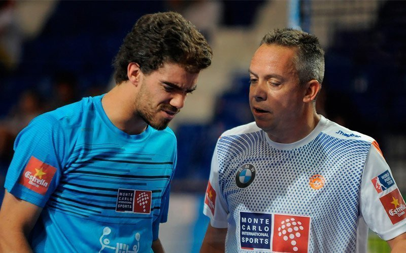 Reca y Lebrón destacan en los octavos del Palma de Mallorca Open