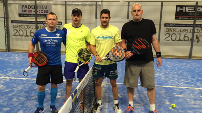 Final del Swedish Padel Tour