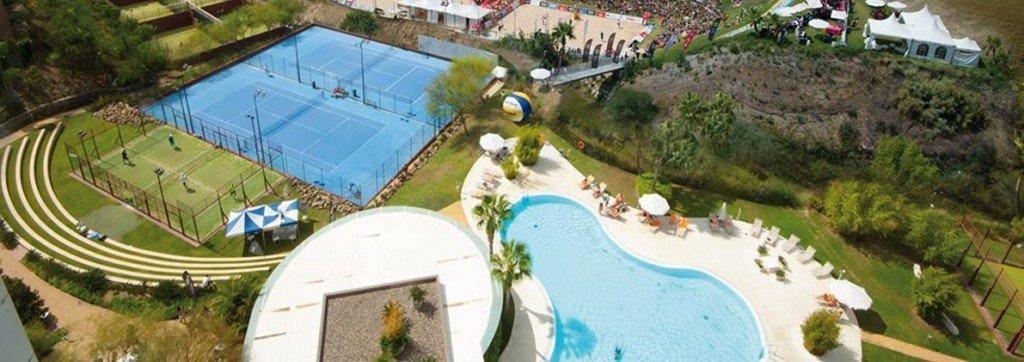 Hoteles con pistas de pádel en Málaga