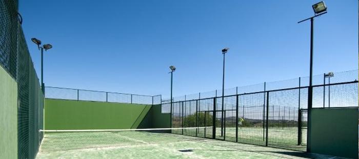 Pista de pádel de Sol Andalusí Resort