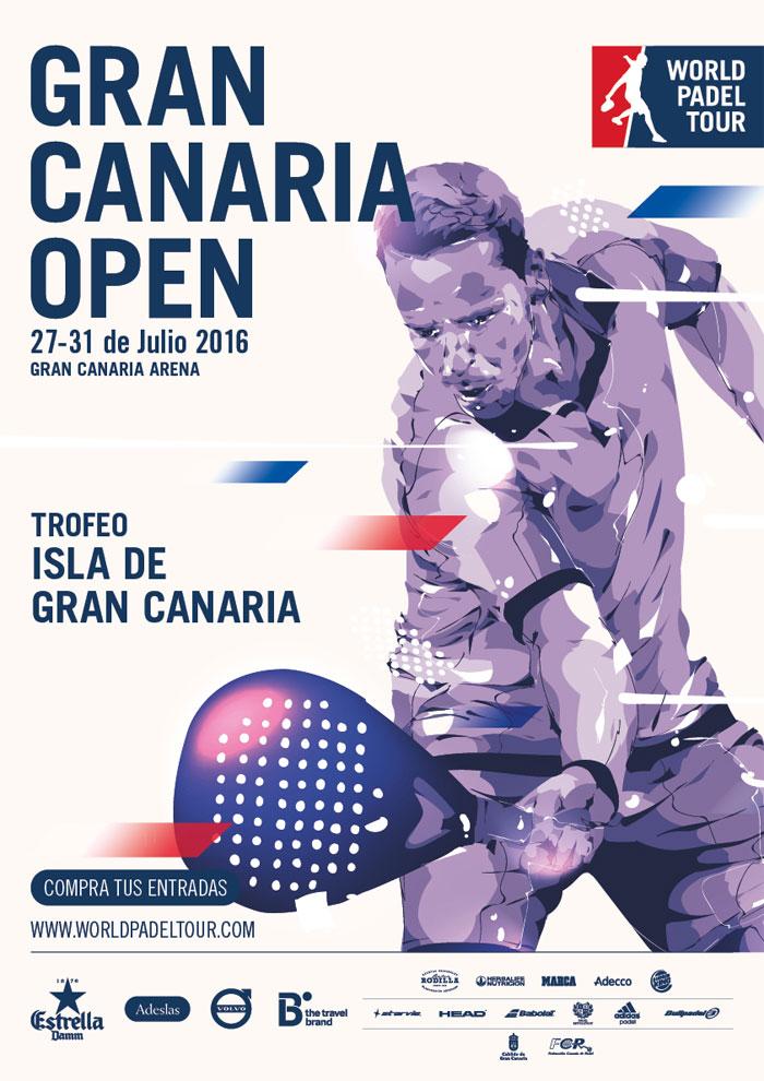 Cartel del Gran Canaria Open