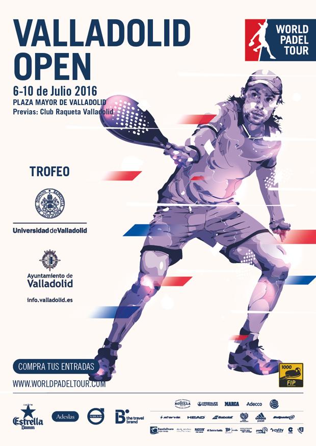 Cartel del Valladolid Open