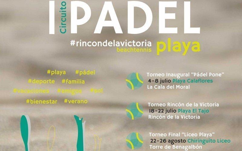 I Circuito de Padel Playa en el Rincón de la Victoria