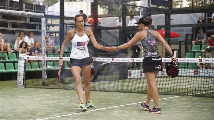 Victoria Iglesias y Cata Tenorio consiguen su primer título de la temporada