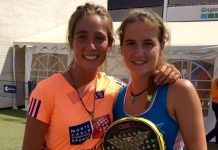 Nuevas parejas en el circuito femenino tras el Valladolid Open