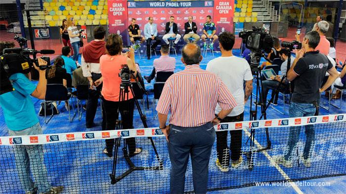 Presentación del Gran Canaria Open