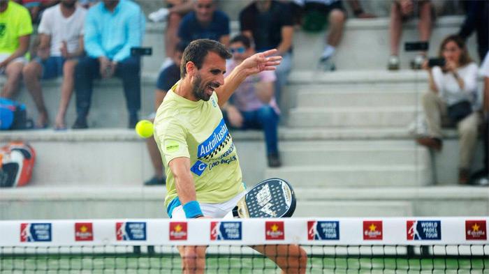 Víctor Ruíz y su compañero Javi Limones han conseguido meterse en los dieciseisavos del Valladolid Open