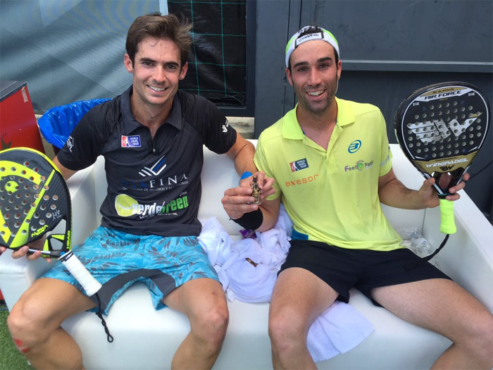 Gonzalo Rubio y Javi Ruíz han conseguido su primer torneo World Padel Tour
