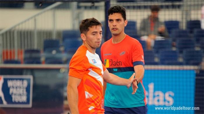 Cristian Germán Gutiérrez y Antonio Luque están demostrando su gran nivel de juego