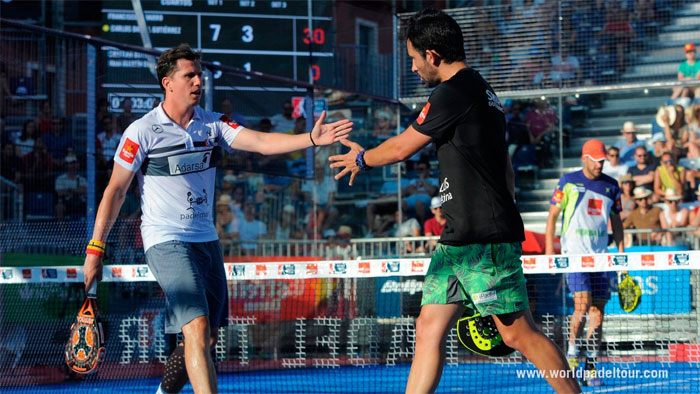 Sanyo y Paquito se desquitaron de su derrota en Mallorca ante Juan Martín y Cristian