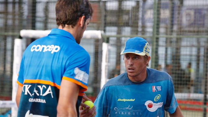 Javier Concepción y Chico Gomes afrontan juntos esta prueba