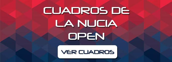 Cuadros de La Nucia Open
