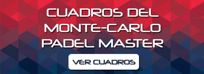 Cuadros del Monte-Carlo Padel Master