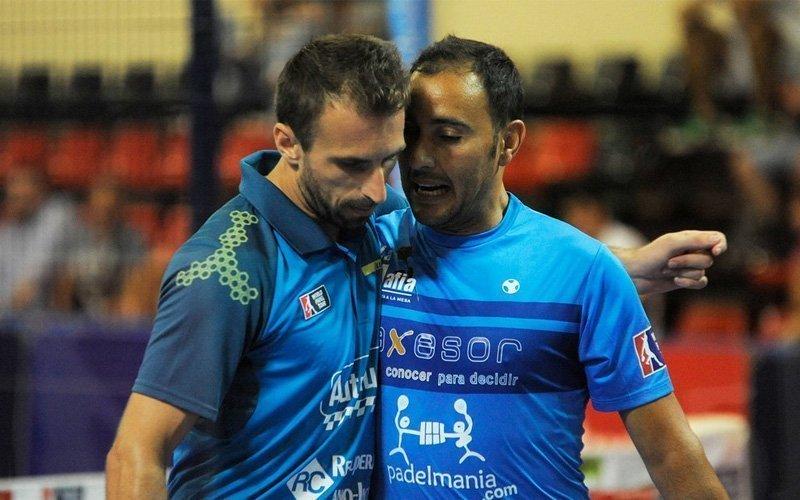 Víctor Ruíz ha sido la pareja de Javier Limones durante su último año como profesional