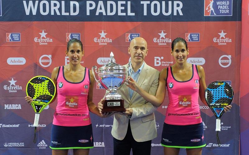 Majo y Mapi Sánchez Alayeto se proclamaron campeonas de La Nucía Open