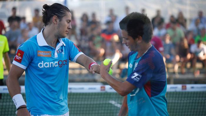 Andoni Bardasco y Diogo Rocha se impusieron en dos sets a sus rivales