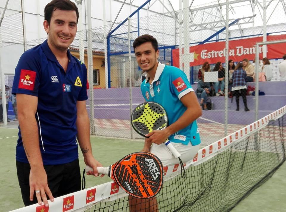 Belluati y Galán siguen adelante en el Sevilla Open