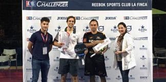 Godo Díaz y Lucho Capra se imponen en la final de La Finca Challenger