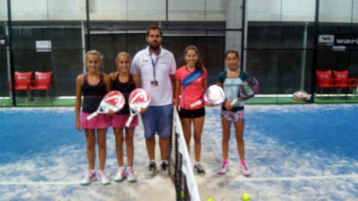 Finalistas Alevín femenino del Campeonato de España de Menores