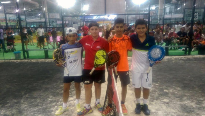 Finalistas Alevín masculino del Campeonato de España de Menores