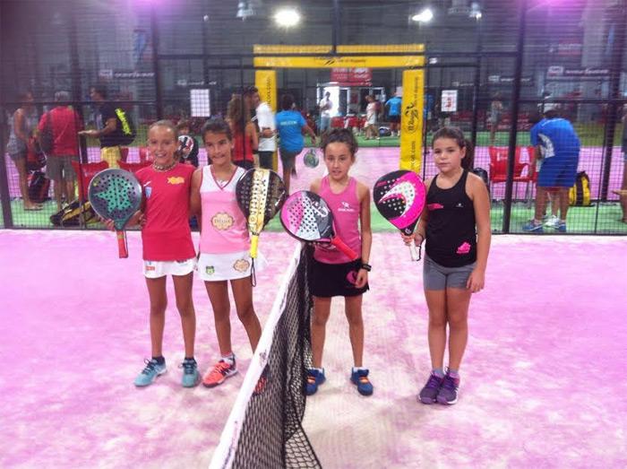 Finalistas Benjamin femenino del Campeonato de España de Menores