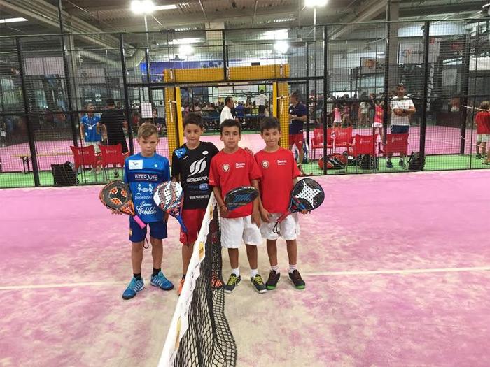 Finalistas Benjamin masculino del Campeonato de España de Menores