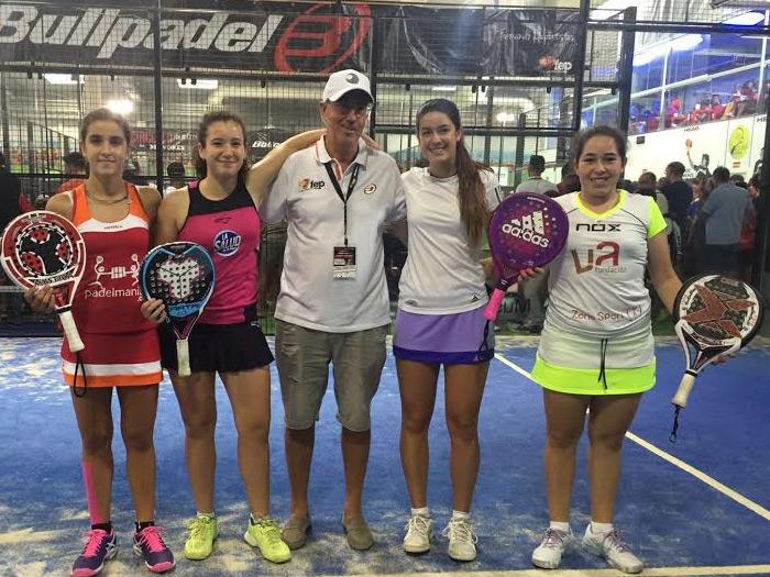Finalistas Cadete femenino del Campeonato de España de Menores