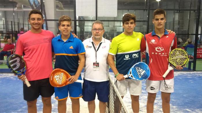 Finalistas Cadete masculino del Campeonato de España de Menores