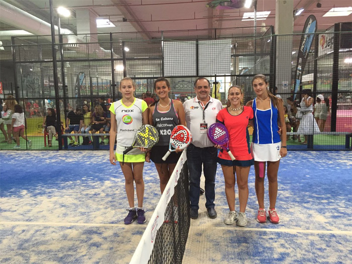Finalistas Infantil femenino del Campeonato de España de Menores