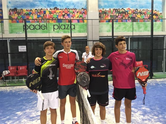 Finalistas Infantil masculino del Campeonato de España de Menores