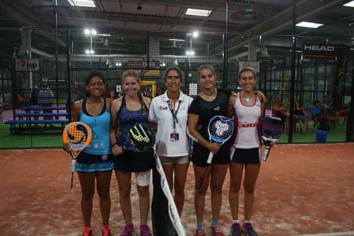 Finalistas Junior femenino del Campeonato de España de Menores