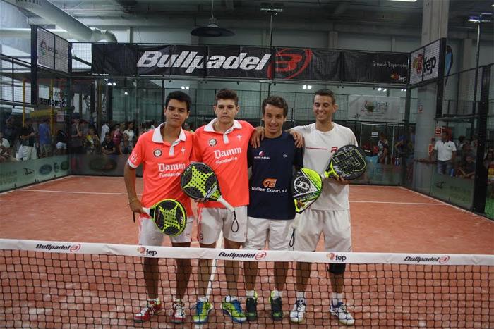 Finalistas Junior masculino del Campeonato de España de Menores