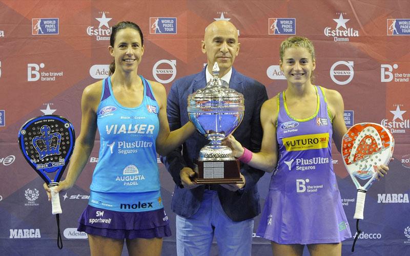 Marta Marrero y Ale Salazar ganaron el Sevilla Open y estrenaron liderato en el ranking femenino