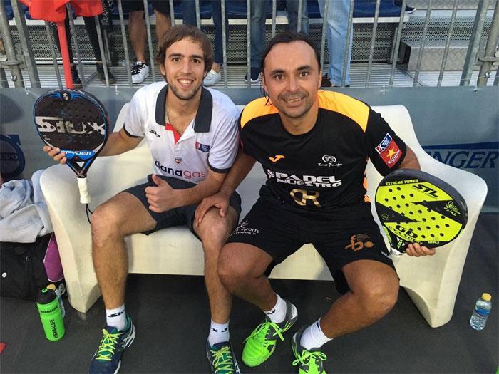 Los flamantes semifinalistas de Monte-Carlo solventaron con dificultad su partido de cuartos de La Finca Challenger