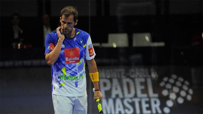 No fue el mejor partido de Juan Martín Díaz y Cristian Gutiérrez