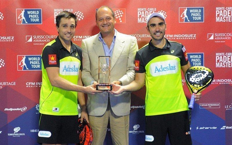 Ganadores del Monte-Carlo Padel Master