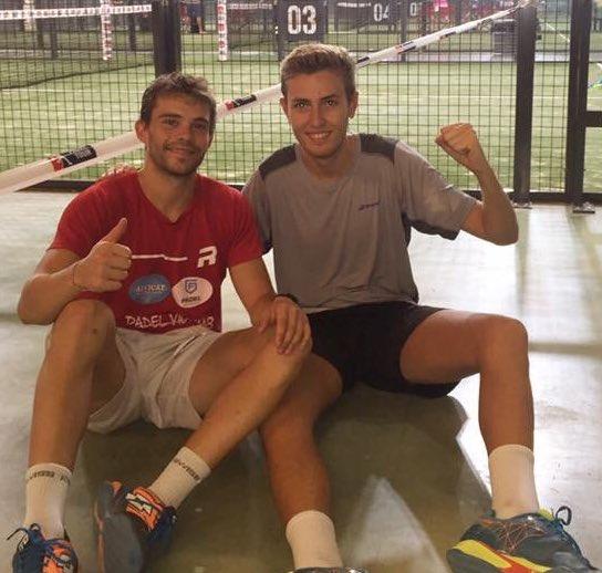 Marc Quilez y Adría Mercadal estarán mañana presentes en los dieciseisavos del Sevilla Open