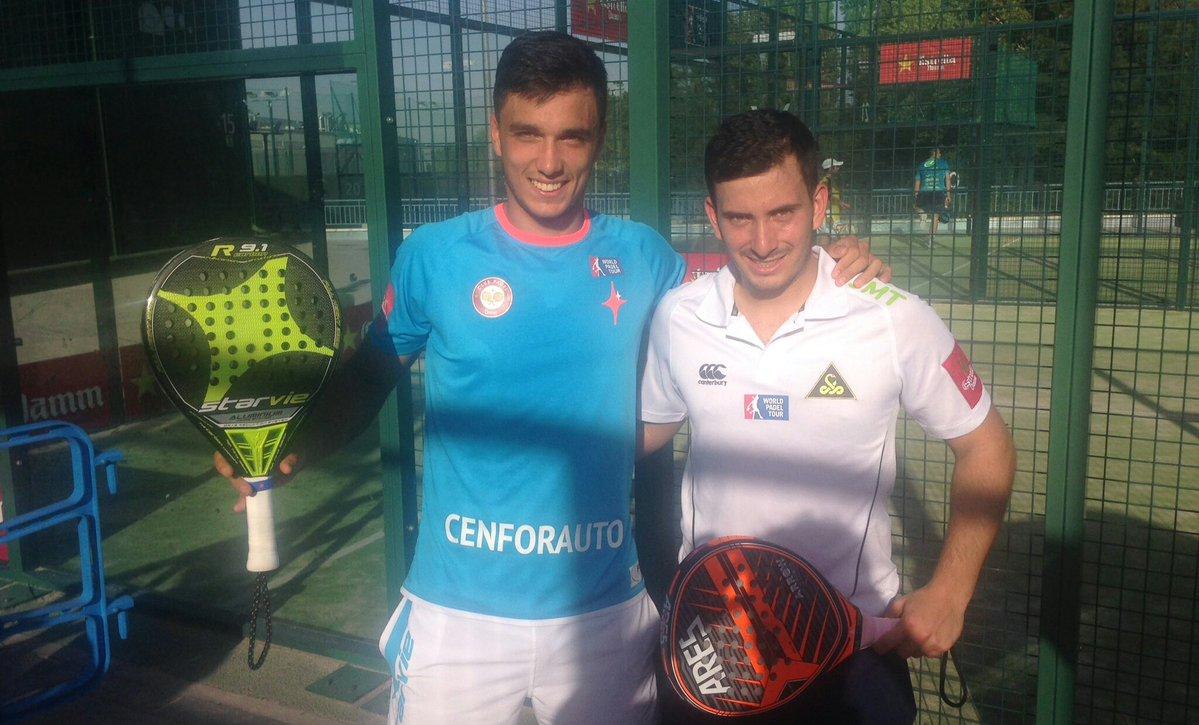 Ale Galán y Juan Cruz Belluati se han clasificado para el Buenos Aires Padel Master