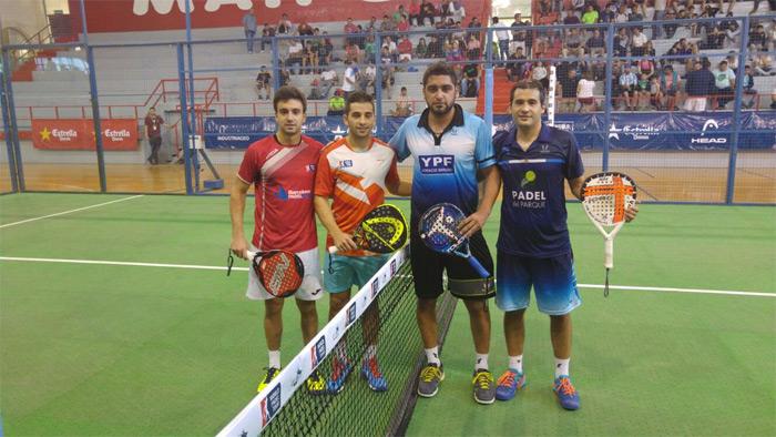 Aris Patiniotis y Cristian Germán Gutiérrez se han metido en dieciseisavos del Mendoza Open