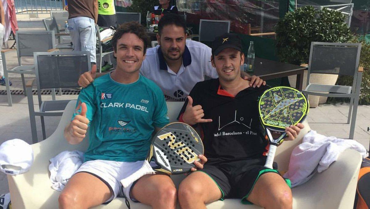 Edu Bainad y Jake Benzal se clasifican para el Buenos Aires Padel Master