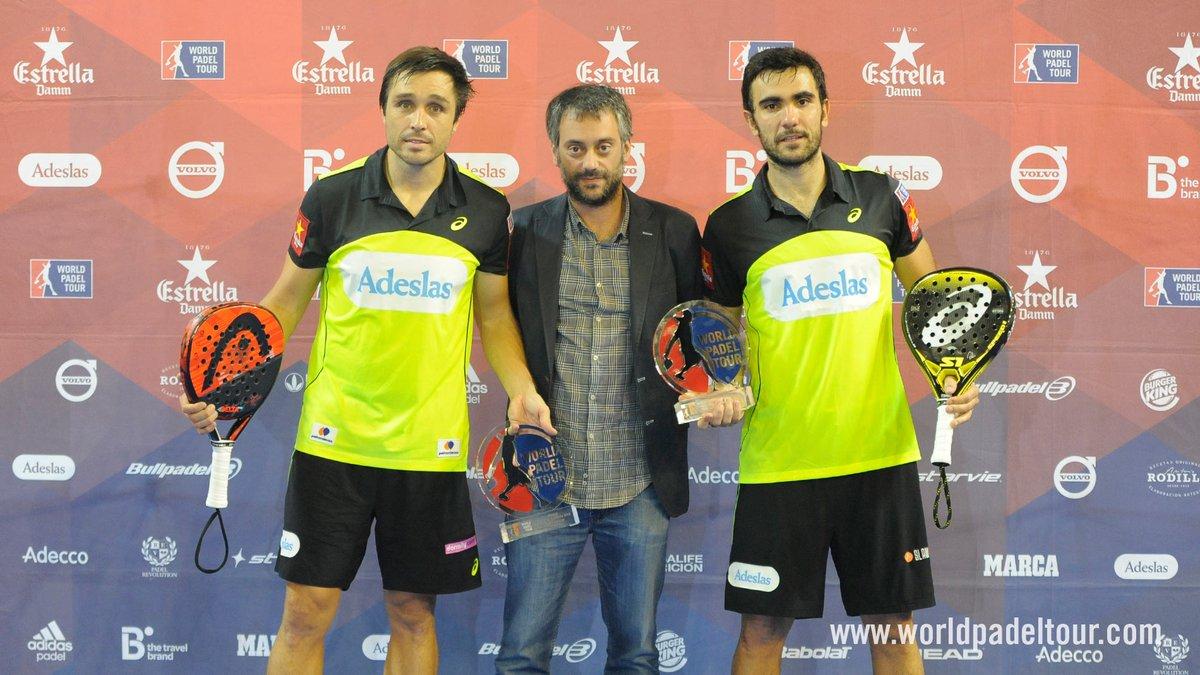 Fernando Belasteguín y Pablo Lima ganan el A Coruña Open