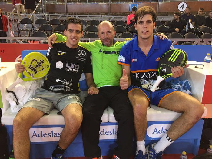 Jose Antonio García Diestro y Javier Concepción han protagonizado la sorpresa de la jornada