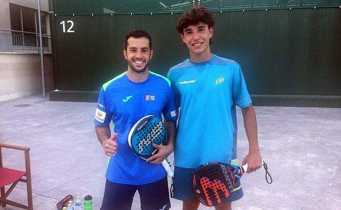 David Garcia Campos y Javi Redondo se han clasificado para el Buenos Aires Padel Master