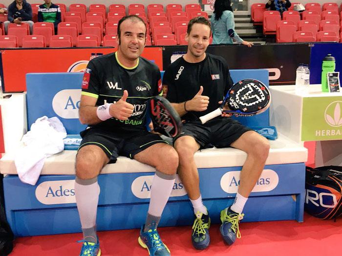Willy Lahoz y Aday Santana pasaron de ronda sin muchas complicaciones
