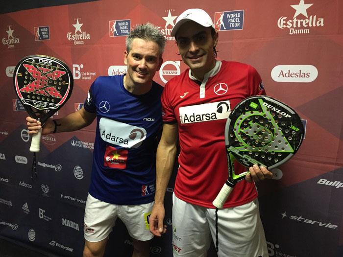 Lamperti y Mieres ganaron el partido más disputado de los octavos del Zaragoza Open