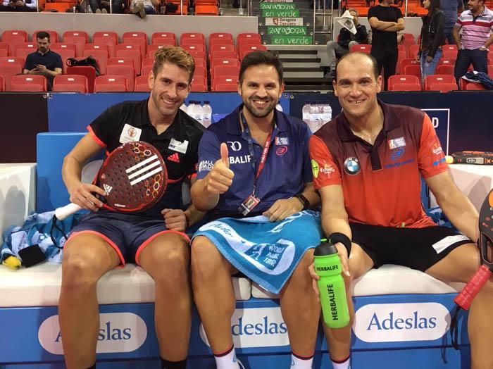 Alex Ruíz y Seba Nerone han conseguido su clasificación para cuartos