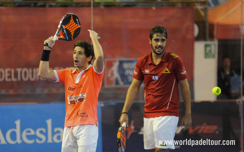 Jaime Bergareche ha estado jugando junto a Martín Sánchez Piñeiro esta temporada